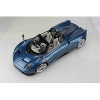 Pagani Huayra Roadster, Carbon Blue - Limited 100 pcs by BBR (Scale 1/12)