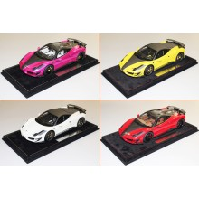 Mansory Ferrari 458 Siracusa Red, Yellow, White, Flash Pink - Ltd 20 pcs by BBR