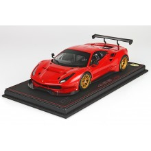 Ferrari 488 GT3, Red - Limited 248 pcs with Display Case by BBR