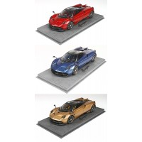 Pagani Huayra Dinastia with Display Case, Limited 200 pcs by BBR
