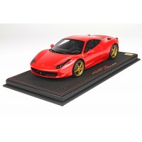 Ferrari 458, F1 Red - Limited 12 pcs with Display Case by BBR