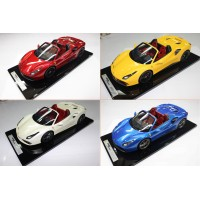 Ferrari 488 Spider, Limited 5-10 pcs by BBR (Scale 1/12)