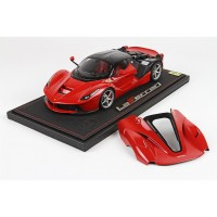 Ferrari LaFerrari Red Open Engine, Limited 99 pcs with Display Case by BBR Models