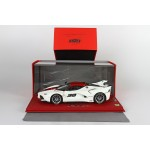 Ferrari FXX K, White and Red Three Alloy, Limited 30 pcs with Display Case by BBR