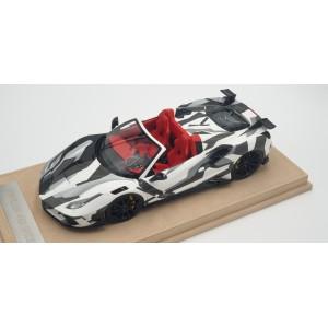 Mansory Ferrari 4XX Siracusa Spider Black White - Limited 50 pcs by Mansory