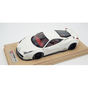Ferrari 458 Liberty Walk Performance, White - Ltd 10 pcs by LB Work