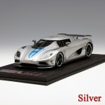 Koenigsegg Agera R (Matt Blue, Carbon, Silver) - Limited Edition by FrontiArt