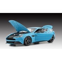 Aston Martin Vanquish, Baby Blue (Opened Version) - Limited 50 pcs by FrontiArt