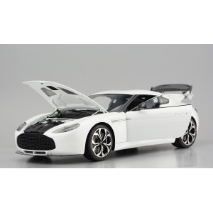 Aston Martin V12 Zagato, Pearl White (Opened Version) - Limited 100 pcs by FrontiArt