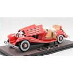 Mercedes Benz 500K Classic in Red, Limited 288 pcs by FrontiArt (Opened Version)