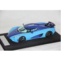 Koenigsegg Regera in Blue - Limited 498 pcs by FrontiArt Avanstyle