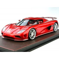 Koenigsegg Agera R in Candy Apple Red - Limited 200 pcs by FrontiArt