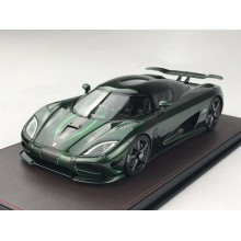 Koenigsegg Agera S in Green Carbon - Limited 198 pcs by FrontiArt