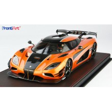 Koenigsegg Agera RS One Of 1 Orange Red - Limited 398 pcs by FrontiArt