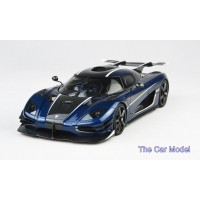 Koenigsegg One:1 in Carbon Blue - Limited 298 pcs by FrontiArt