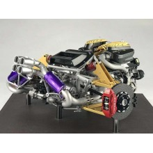 Pagani Huayra Engine by FrontiArt 1/6