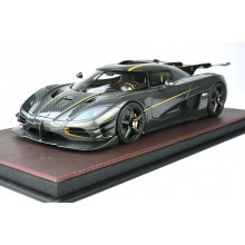 Koenigsegg One:1 Carbon Gold, Limited 298 pcs by FrontiArt 1/18