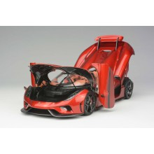 Koenigsegg Regera in Candy Red, Limited 299 pcs (Opened Version) by FrontiArt