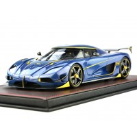 Koenigsegg Agera RS Naraya in Carbon Blue - Limited 198 pcs by FrontiArt
