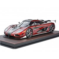 Koenigsegg Agera RS in Burgundy Red - Limited 198 pcs by FrontiArt
