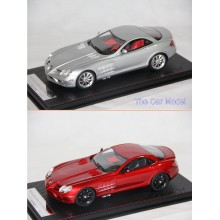 Mercedes Benz SLR in Silver, Red - Limited 498 pcs by FrontiArt SophiArt