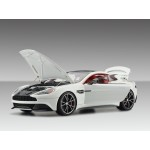 Aston Martin Vanquish, Pearl White (Opened Version) - Limited 100 pcs by FrontiArt