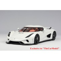 Koenigsegg Regera in White, Limited 50 pcs by Avanstyle (Closed Version)