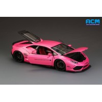 LB Lamborghini Huracan, Pink (Full Open) - Limited 40 pcs with Display Case by Hobby Design