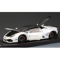 LB Lamborghini Huracan, White (Full Open) - Limited 40 pcs with Display Case by Hobby Design