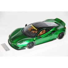 Ferrari 488 Liberty Walk LB Performance, Chrome Green - Limited 20 pcs by LB Work
