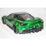 Ferrari 488 Liberty Walk LB Performance, Chrome Green - Limited 20 pcs by LB Work