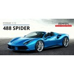 Ferrari 488 Spider, Limited Edition with Display Case by LookSmart (Scale 1/12)