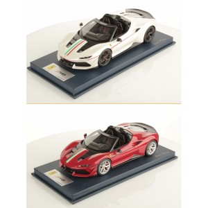 Ferrari J50 with Italian Livery, Limited 3 pcs with Display Case by LookSmart