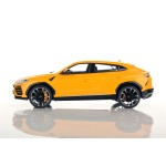 Lamborghini Urus in Giallo Auge with Display Case by LookSmart 1/18