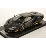 Lamborghini Centenario Carbonium w/ Clear Coat, Display Case by LookSmart (Scale 1/12)