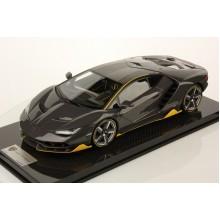 Lamborghini Centenario Carbonium w/ Clear Coat, Display Case by LookSmart (Scale 1/12)
