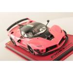Ferrari FXX-K Evo Metallic Pink w/ Italian Stripe - One Off Limited 1 pcs by MR