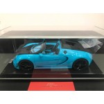 Bugatti Grand Sport Veyron Vitesse Baby Blue on Carbon Base, Limited 15 pcs by MR 1/18