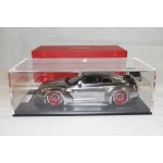 Nissan LB Work R35 GT Wing in Chrome with Display Case, Limited 50 pcs by One Model