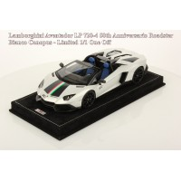 Lamborghini Aventador LP720-4 50th Anniversary Roadster, Bianco Canopus - One Off