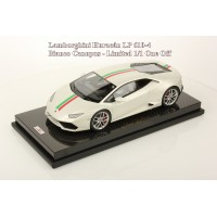 Lamborghini Huracan LP610-4, Bianco Canopus, Carbon Base - One Off by MR Collections