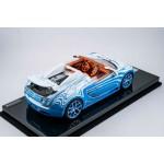 Bugatti Vitesse Blue and White on Carbon Base, Ltd 66 pcs by Henson & Heaven