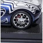 Bugatti Veyron L'or Blanc on Carbon Base, Ltd 66 pcs by Henson & Heaven