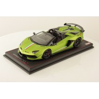 Lamborghini Aventador SVJ Roadster Green w/ Italian Stripe - One Off Limited 1 pcs by MR