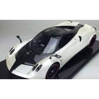 Pagani Huayra, Pearl White - Limited 10 pcs (Scale 1/12) by Peako