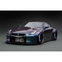 Nissan LB-Works GTR R3 in Metallic Purple/Green by Peako/Ignition