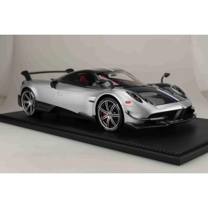 Pagani Huayra BC, Silver - Limited 50 pcs (Scale 1/12) by Peako