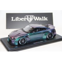 Nissan LB-Works GTR R35 in Metallic Purple/Green by Peako/Ignition