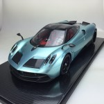 Pagani Huayra Track Pack Blue - Limited 10 pcs (Scale 1/12) by Peako