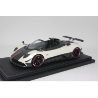 Pagani Zonda Cinque Roadster, White - Limited 100 pcs